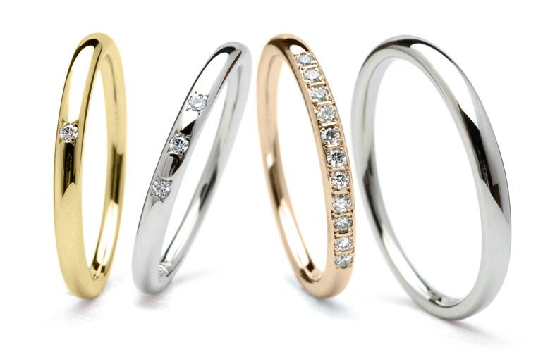 メレダイヤモンドの指輪