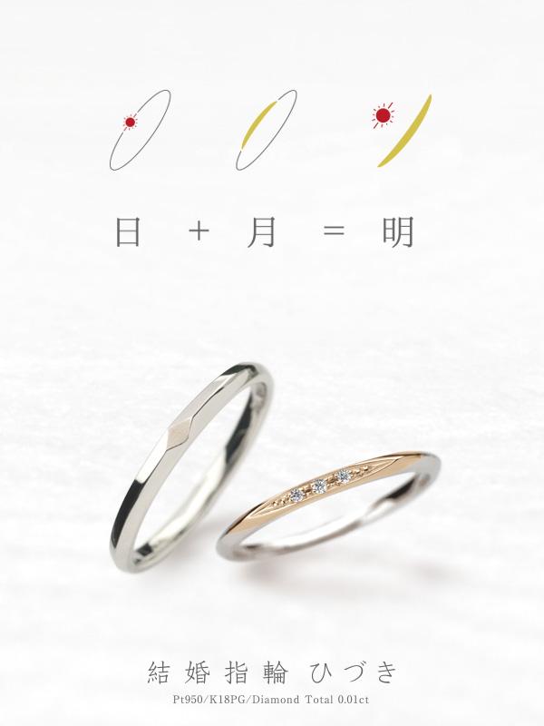 コンセプトリング結婚指輪